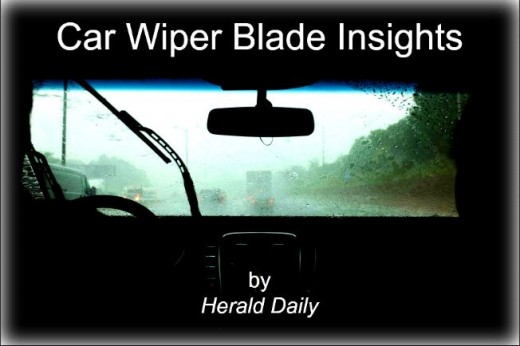 My insights on windshield wipers