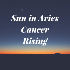 Aries Sun with Cancer Rising