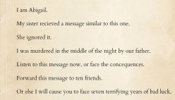 The Chain Letter: A Reflective Look