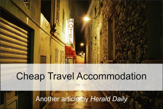Cheap accommodations when traveling - know where to look and what to look for