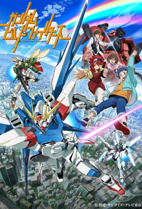 """A Pretentious Anime Review: """"Gundam Build Fighters"""""""