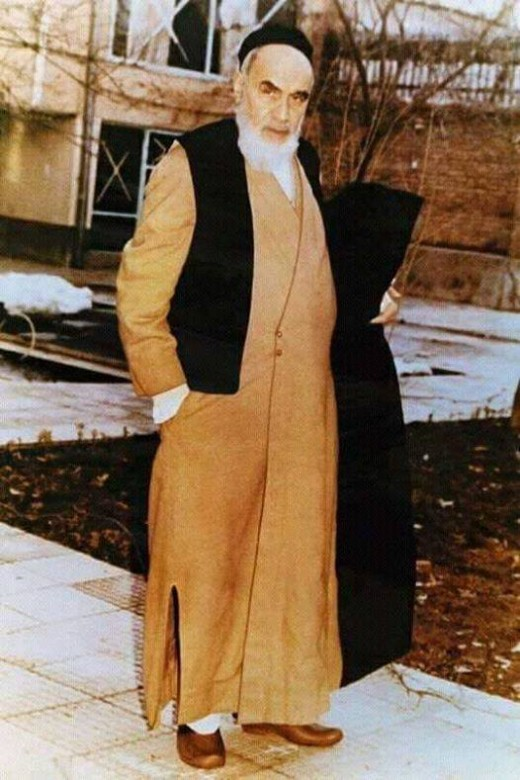 Father of the Iranian Revolution Ruhollah Khomeini