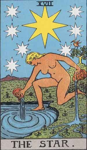 The Star Tarot Card/Aquarius