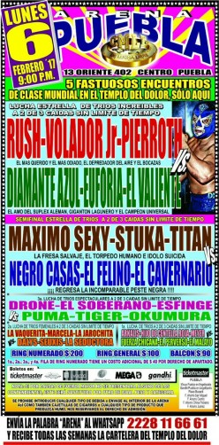 CMLL Puebla: Third Match Thrills