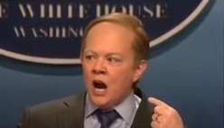 What do you think of Melissa McCarthy's comedic spoof of Sean Spicer?   Really, it was