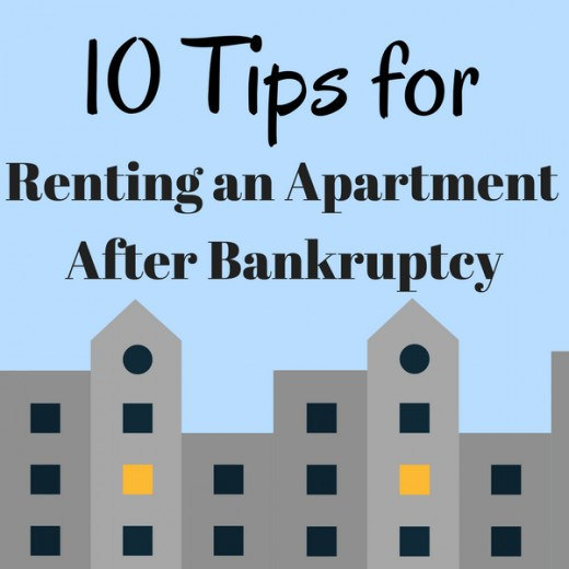 Renting an apartment after bankruptcy isn't always easy, but it is possible.