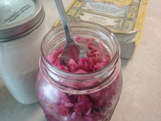 A little beet in your sauerkraut makes it a favorite with kids and a great addition of color to almost any meal.