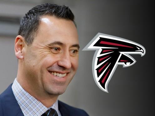 Steve Sarkisian, former  offensive coordinator, University  of Alabama, now offensive  coordinator, Atlanta Falcons.