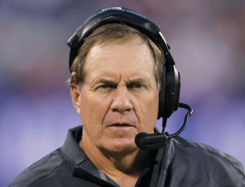 Bill Bilicheck, head coach of The New England Patriots who just won Super Bowl LI