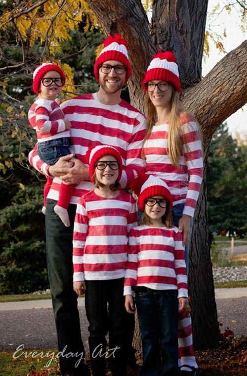 How to make a waldo halloween costume hubpages a great waldo group or family costume solutioingenieria Choice Image
