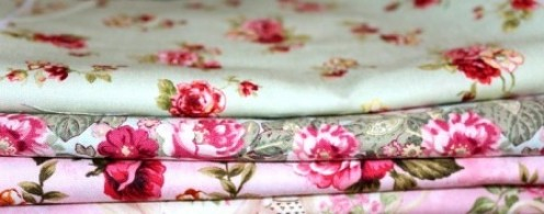 Rose-Patterned Fabric