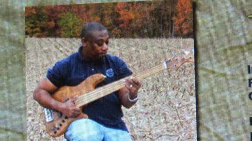 Teddy Robinson, plays the electric guitar and Fretless Bass for Traxx9 Band. He was former owner of Reminisce Recording Studio. Teddy, has performed for live stage plays. He enjoys old school funk, contemporary jazz and gospel.