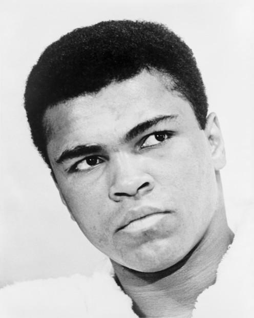 Muhammad Ali in 1968.