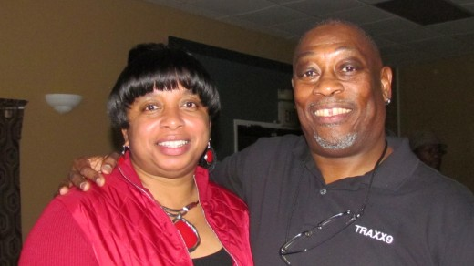Teddy Robinson and his wife Dawn, also enjoyed the evening's performance and dancing.