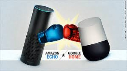 Amazon Echo Battles Google Home For The Top Spot In The Emerging World of Voice Activated Personal Assistants