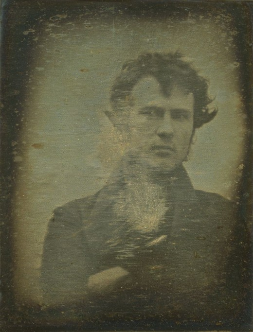 Robert Cornelius took the first portrait photo back in 1839 The very first Selfie!