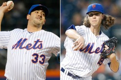 Mets resign Harvey and deGrom to 1-year deals.  deGrom gets a hefty raise.