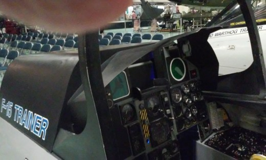 F-15 Trainer Panel, Air Force Armament Museum, Ft. Walton Beach, FL