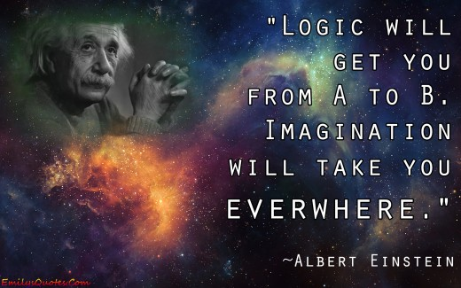 Einstein on imagination
