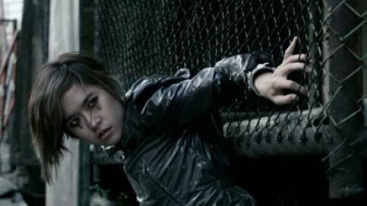 Jeeja Yanin is one of the many female action stars  in Asia, with films like Chocolate and Raging Phoenix.  Her characters often must overcome or work with some form difficulty in their fights, though still dynamic.