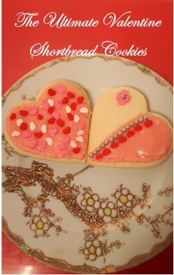 The Ultimate Valentine Shortbread Cookies