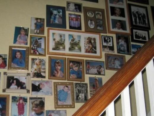 Create a fun gallery to create a wall of photos.