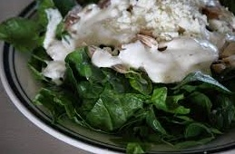 Spinach dish