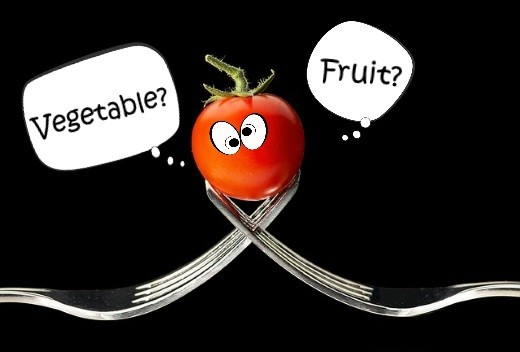 Help this confused little tomato find out if it's a fruit or a vegetable.
