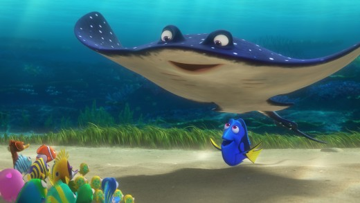 Dory and Mr. Ray.