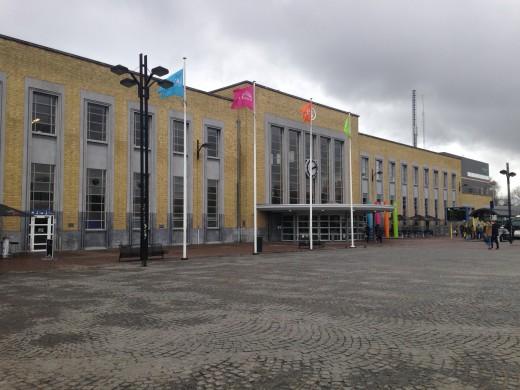The train station at Bruges