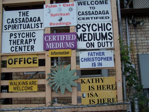Cassadaga Spiritualist Camp: Volusia County, FL