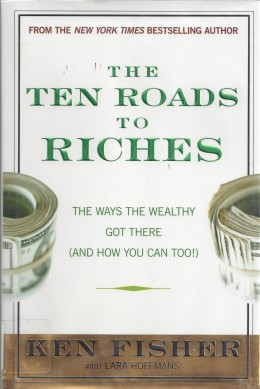 """The Cover of """"The Ten Roads to Riches"""""""