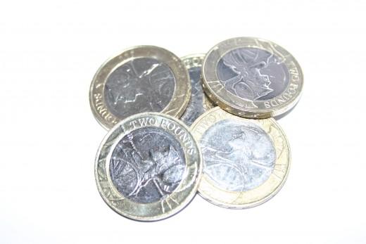 Britannia £2 Coins