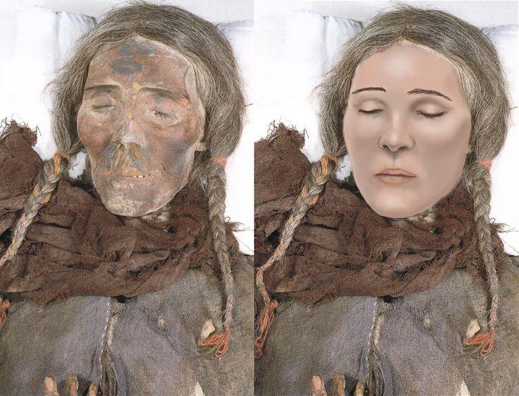 Billedresultat for Tarim mummies
