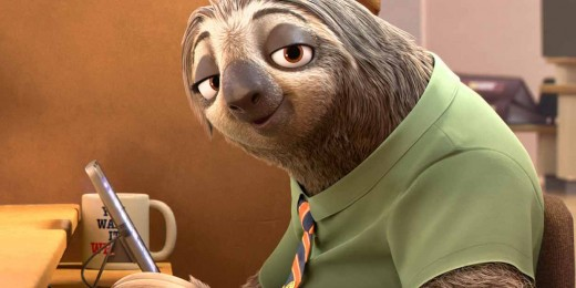 Flash, the sloth