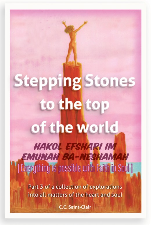 Each 'Conversation' Hub is a section still in draft mode within Stepping Stones to the Top of the World [volume#3]