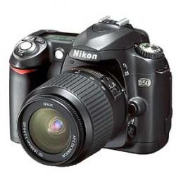 Nikon D50 digital camera