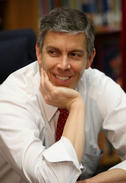 What is he thinking: Secretary of Education, Arne Duncan