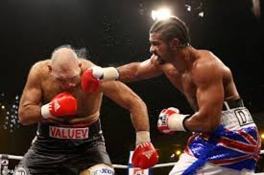 Nikolay Valuev lost his heavyweight crown to David Haye and promptly retired from the sport.