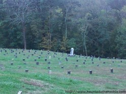 The Ridges Cemetery at the Athens Lunatic Asylum in Athens, Ohio