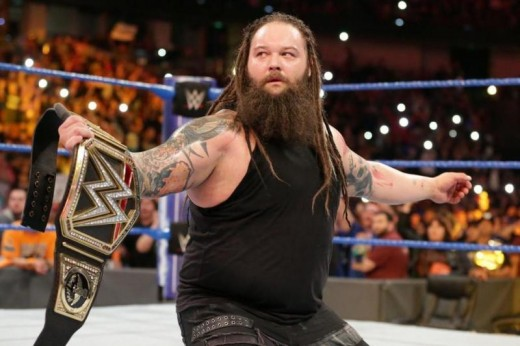 Bray Wyatt Holds the WWE Championship on Smackdown