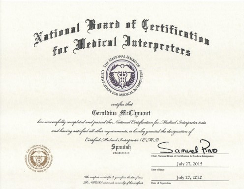 Distinguish yourself from other medical interpreters by getting yourself certified.