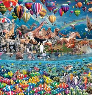 24,000 pieces (www.worldslargestpuzzle.com)