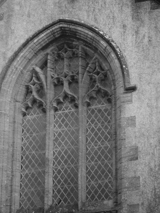 Beautiful church window in England