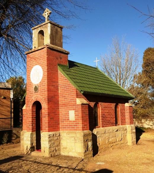Smallest Church, Van Reenen, KZN