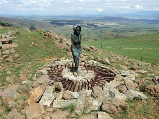 Die Kaalvoet Vrou (The Barefoot Lady), KZN, South Africa