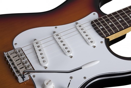 The Schecter California Vintage Traditional Standard is an affordable alternative to the Fender Stratocaster.