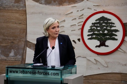 Marine Le Pen in Lebanon