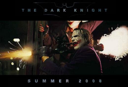 The Dark Knight (2008) - the greatest superhero flick ever released into cinemas