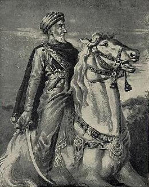 Historical Artistic rendering of Hassan-i-Sabbah